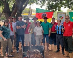 Bolsonaro participa de celebração do Dia do Gaúcho em Brasília