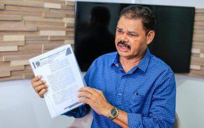 TCE condena ex-prefeito Zé Medeiros a devolver mais de R$ 196 mil