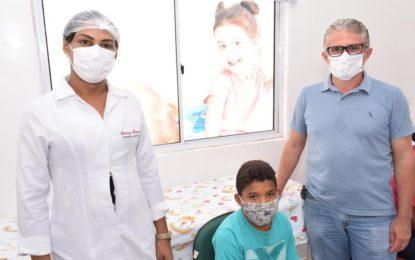 Guadalupe realiza  campanha de vacinação contra a poliomielite