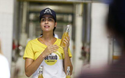 Ambev lança oficialmente a cerveja Berrió, bebida é feita a base de caju do Piauí