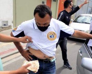 No Ceará, irmão de candidato a prefeito é preso com quase 600 mil