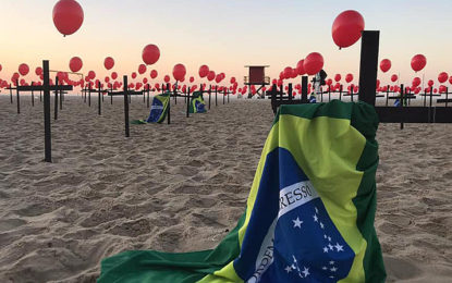 Brasil registra 698 mortes por Covid em 24h