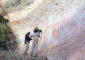 Arte rupestre descoberta na Amazônia mostra humanos com animais da Era do Gelo